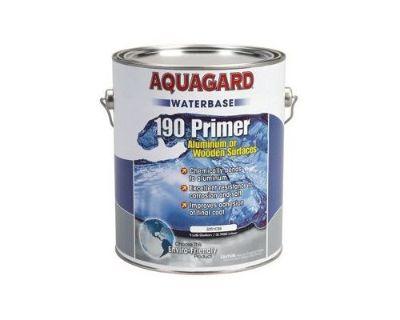 Aquagard 190 Waterbased Primer For Alumi-koat Aluminum Or Wooden Boats Gallon