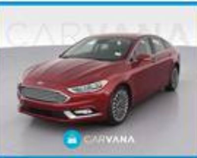 2017 Ford Fusion Red, 43K miles