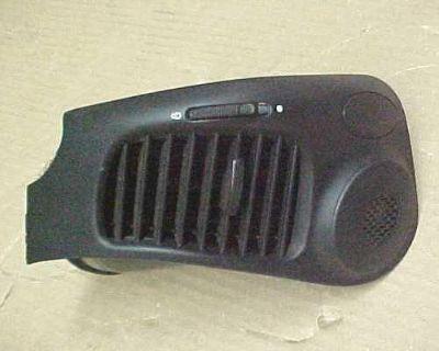 Porsche 911 996 Boxster 986 Right Dash Vent Black 99655222805 A03 Oem