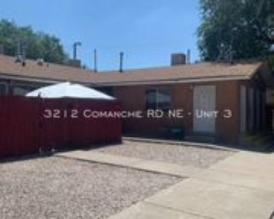 3212 Comanche Rd Ne #3, Albuquerque, NM 87107 2 Bedroom Apartment