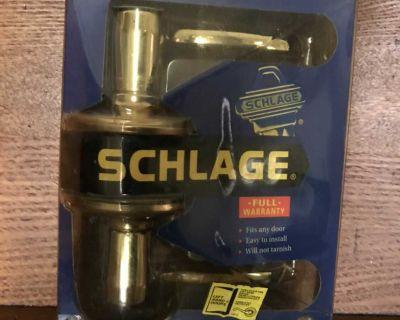 Never used Bed & Bath brass door handle