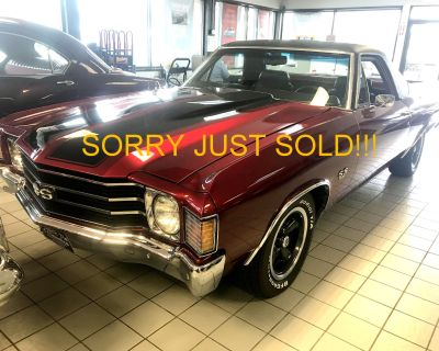 1972 Chevrolet Sorry Just Sold!!!! EL Camino SS 402