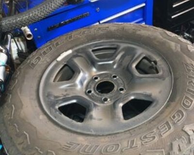 Washington, D.C. - Want to Buy: JT Spare Steel Wheels