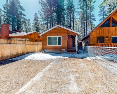 Cozy Mountain Cottage w/ Free WiFi, a Wood-Burning Fireplace, Yard, & Gas Grill - Big Bear City