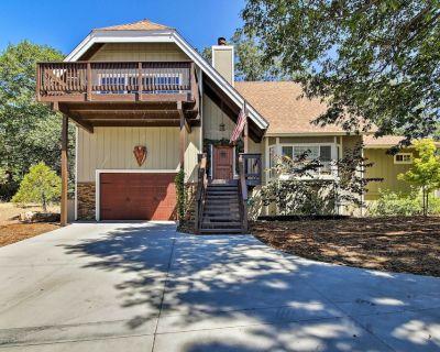 Lake Arrowhead Home w/ Fireplace + Game Room! - Lake Arrowhead