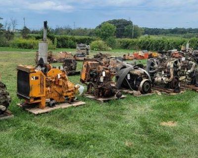 HUGE SALE!! Equipment, Tools, Diesel, Mowers, Parts, Forklifts, Skid-Steer