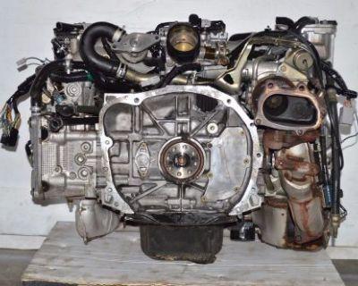 Jdm 02 03 04 05 Subaru Impreza Wrx Ej20t Turbo Avcs Dohc Engine Ej205 2.0l Motor