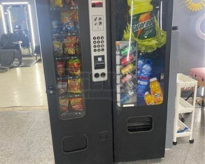 Used Wittern USI Snack Vending Machine with a Drink Entree