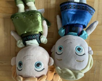Anna & Elsa plush dolls in excellent condition price is firm