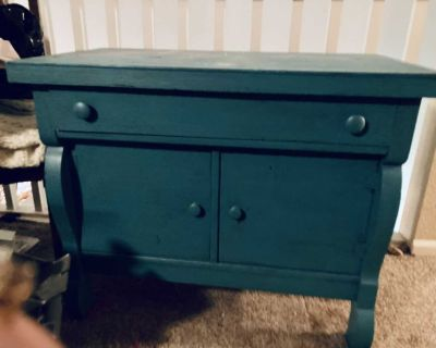 Free antique side table today (Thursday) only