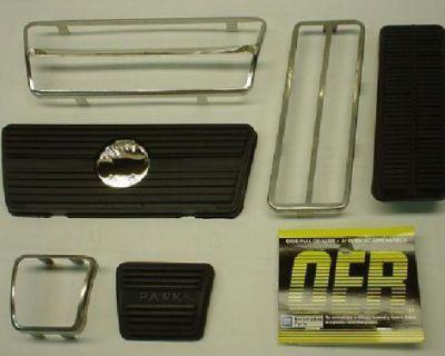 1967 - 1968 Camaro / Firebird A/t Disc Pedal Pad Kit * 67 68