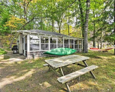 NEW! Lakefront Cabin w/ Private Dock & Boat Rental - Eau Claire County