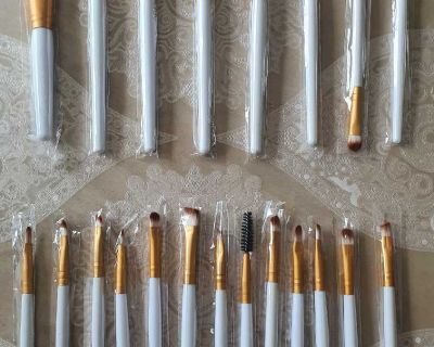 Makeup Brushes Set 20pcs ( NOTE CROSSPOSTED)