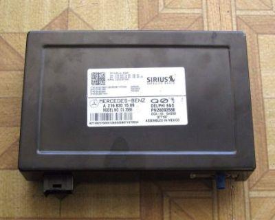 Mercedes C250 C280 C300 C350 C63 Cl600 Cl63 Cl65 Satellite Radio 2168201589, Oem