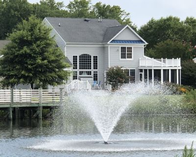 WATERFRONT 5BR BEACHHOUSE in BETHANY, POOL,GYM, SCREEN PORCH,BILLIARDS,FISH,GOL - Ocean View