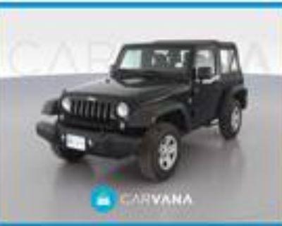 2017 Jeep Wrangler Black, 62K miles