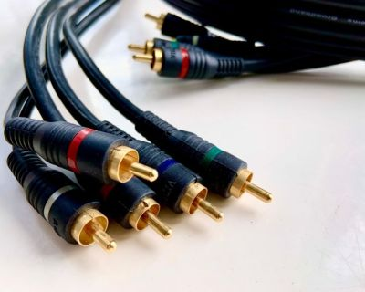 Monster Cable Pro 4' Link Studiolink RCA male to RCA male