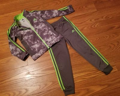 Size 7 Adidas track suit