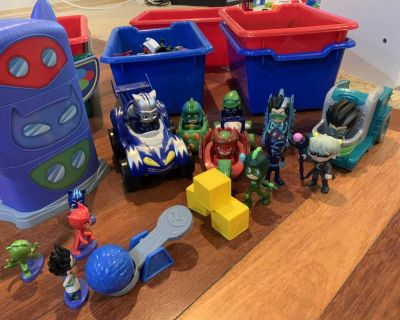 Great used condition PJ Masks collection