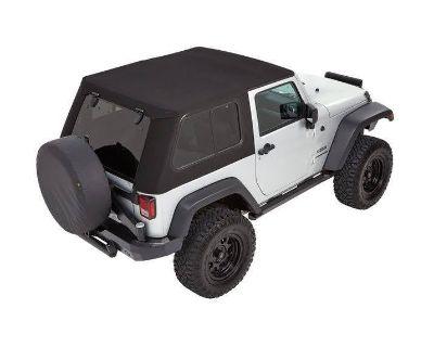 Bestop Trektop Pro Parts - Center Sunrider & Rear Window