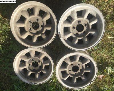 Rare vanagon minilite wheels type 3 typ3