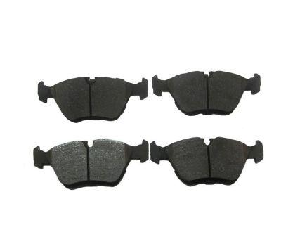 Semi-metallic Brake Pads Premium 00-03 Jaguar Xj8 Xjr