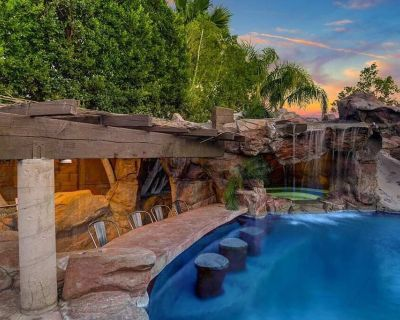 PS OASIS! POOL+GROTTO+GOLF!! THE BEST! - Cathedral City