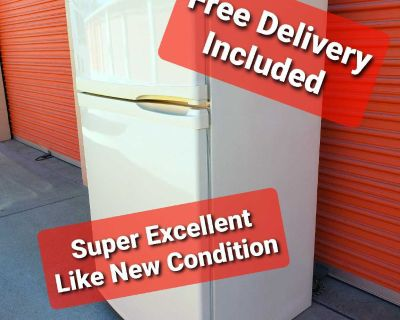 Kenmore Elite 21 CuFt Refrigerator Counter Depth Free Delivery Included Super Excellent Like New Condition