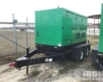 2014 Taylor TGR60 62 kVA Mobile Gen Set