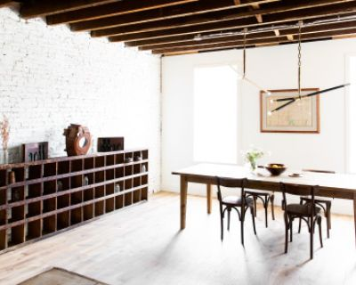 Consciously Renovated Bright and Spacious Industrial Duplex, Philadelphia, PA