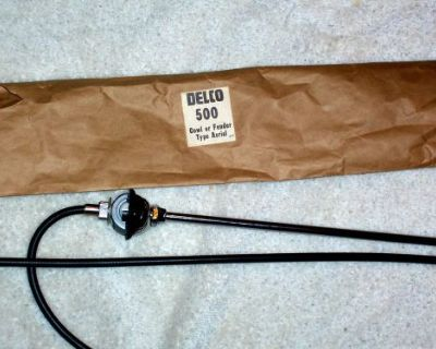 1940's-1970's 3 Section Stainless Radio Antenna Made In America 50 Years New