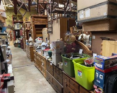 huge Labor Day Weekend estate sale at the old Lake Harmony Firehouse by Caring Transitions25