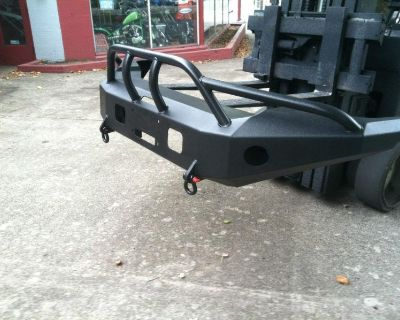 1999-2004 Ford Superduty Winch Bumper With Brush Guard