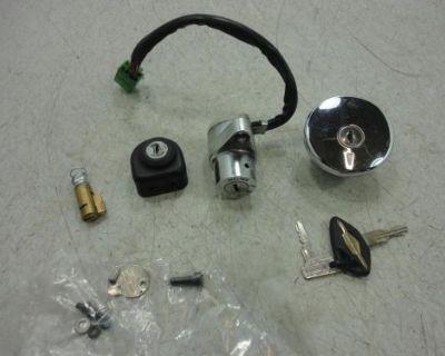 06-15 Suzuki Savage Ls650 Lock Set Ignition Switch Key 37101-24830