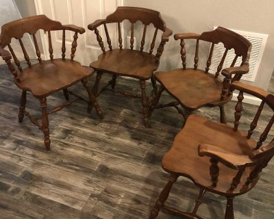 1960s Ethan Allen Dining Chairs (4)