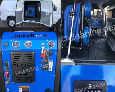 carpet cleaning van for sale