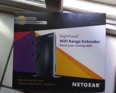 Netgear Router and Wifi Extender