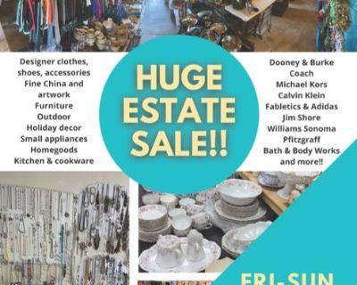 High-End Designer Estate Sale