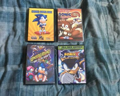 Lot Of 4 Sonic DVDs