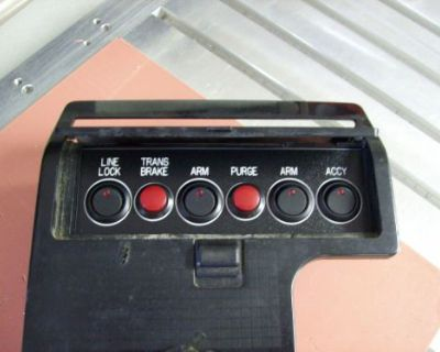 85-92 Firebird Trans Am Ash Tray Mounted Switch Panel Nitrous Oxide Etc..