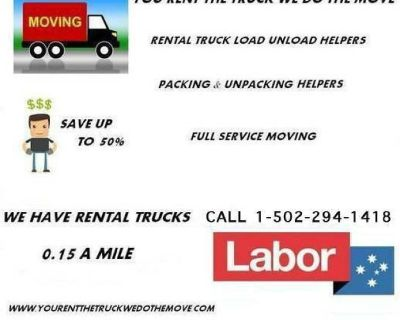 HIRE MOVERS TO LOAD UNLOAD RENTAL TRUCKS INDIANAPOLIS
