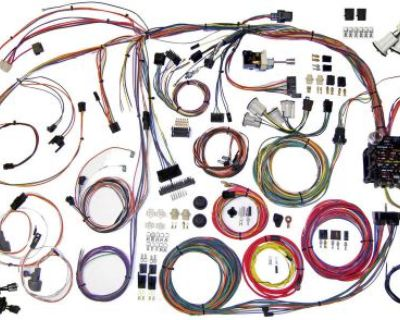 70-72 Monte Carlo Classic Update Series Wire Wiring Harness Aaw 510336