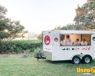 2021 Snapper 7' x 14' Turnkey Mobile Ice Cream Biz/Permitted Ice Cream Trailer