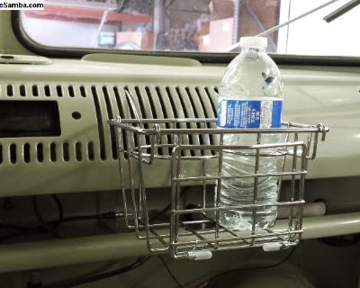 New Type 2 Bus 55-67 Utility Cup Holder Basket