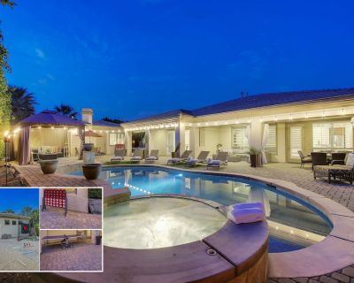 Paradise Palms: Pool, Spa, Fireplace, Ping Pong!!! - Indio