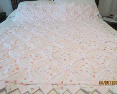 Cathedral Quilt for up to 5 year size.