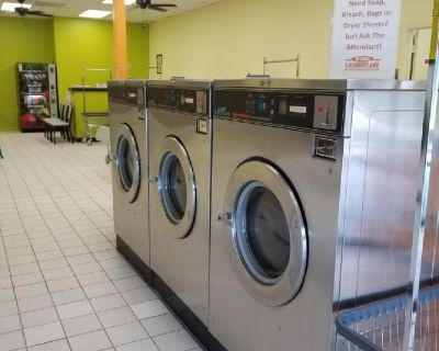 Laundromat & Dry Cleaning. NOW OPEN