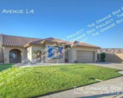6662 W Avenue L4, Lancaster, CA 93536 3 Bedroom House