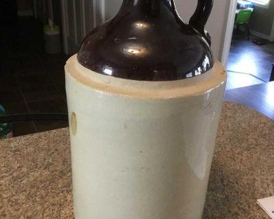 Glass jug - 13 high