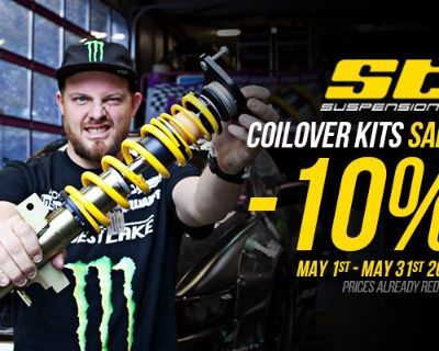 May Sale on ST Suspensions Products - Only 3 Days Left!